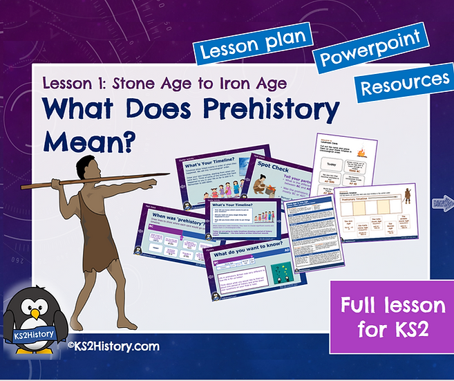 1. What does prehistory mean?