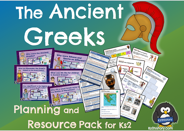 Ancient Greece Lessons Pack