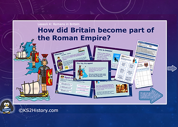 Roman invasion of Britain free lesson.pn