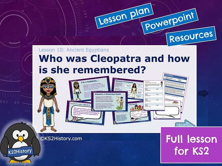 10. Who was Cleopatra and how is she remembered?