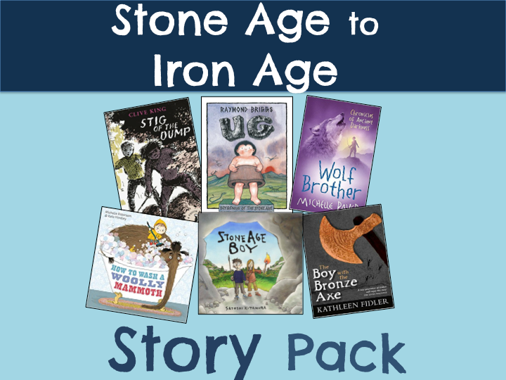 Stone Age to Iron Age Story Pack