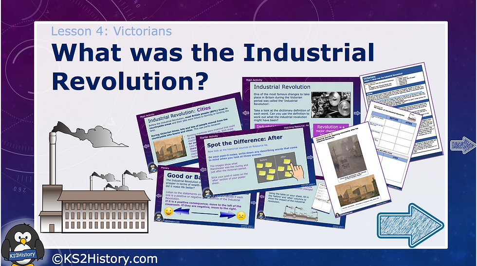 4. What was the Industrial Revolution?