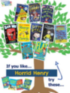 Books similar to Horrid Henry.png