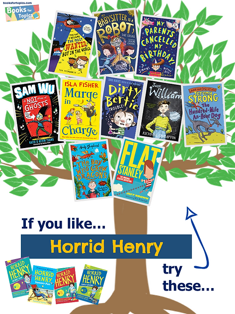 Books similar to Horrid Henry.png
