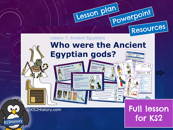 7. Who were the Ancient Egyptian gods?