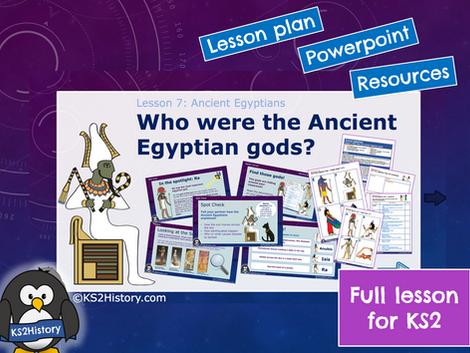 Ancient Egyptians Lesson6