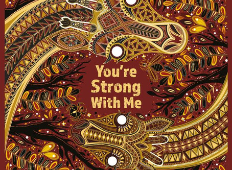 Review & Author Blog: You're Strong With Me / Chitra Soundar