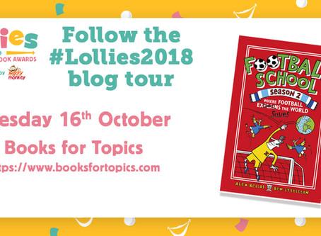 Author blog: Lollies Blog Tour with Football School Authors Alex Bellos & Ben Lyttleton