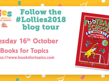 Author blog: Lollies Blog Tour with Football School Authors Alex Bellos & Ben Lyttleton