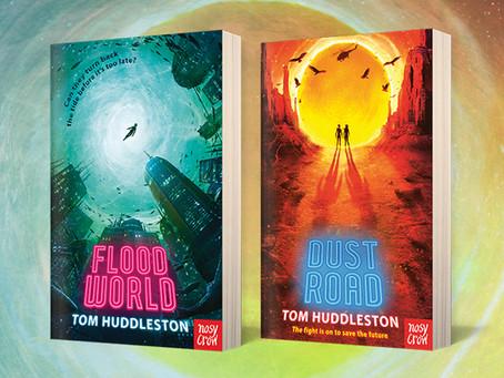 Blog Tour, Giveaway & Author Blog: FloodWorld & DustRoad / Tom Huddleston