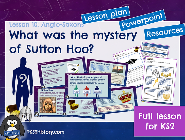10. What was the mystery of Sutton Hoo?