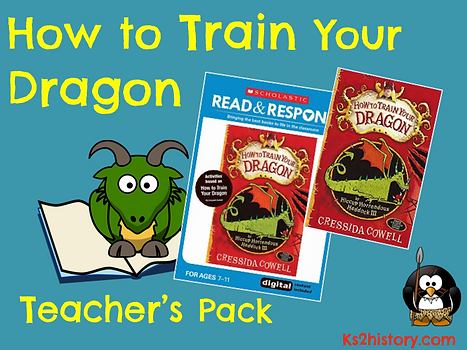 Ks2history how to train your dragon planning the how to train your dragon teachers pack contains a copy of the book and the read respond teacher guide including interactive cd rom ccuart