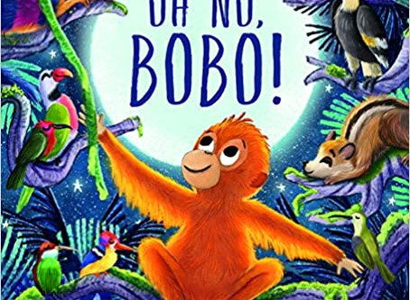 Review & Author Blog: Oh No Bobo / Donna David