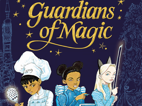 Review & Giveaway: Guardians of Magic by Chris Riddell