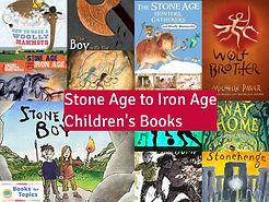 Stone Age to Iron Age children's books