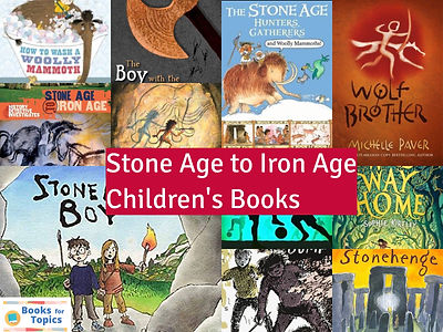 Stone Age to Iron Age children's books