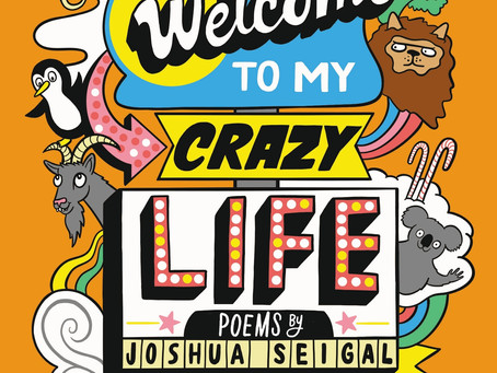 Review, Giveaway & Q&A: Joshua Seigal / Welcome to My Crazy Life