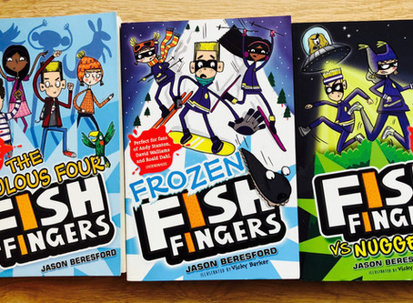 Review & Giveaway: The Fish Fingers Series