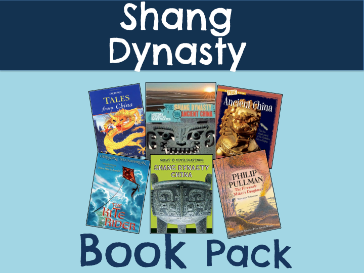 Shang Dynasty Book Pack