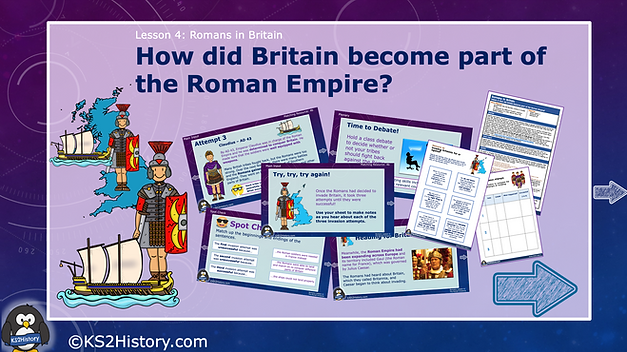 Roman invasion of Britain lesson ks2.png