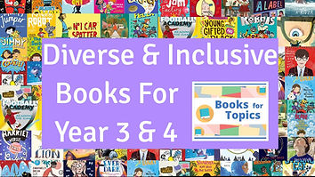best diverse books for year 3 and year 4