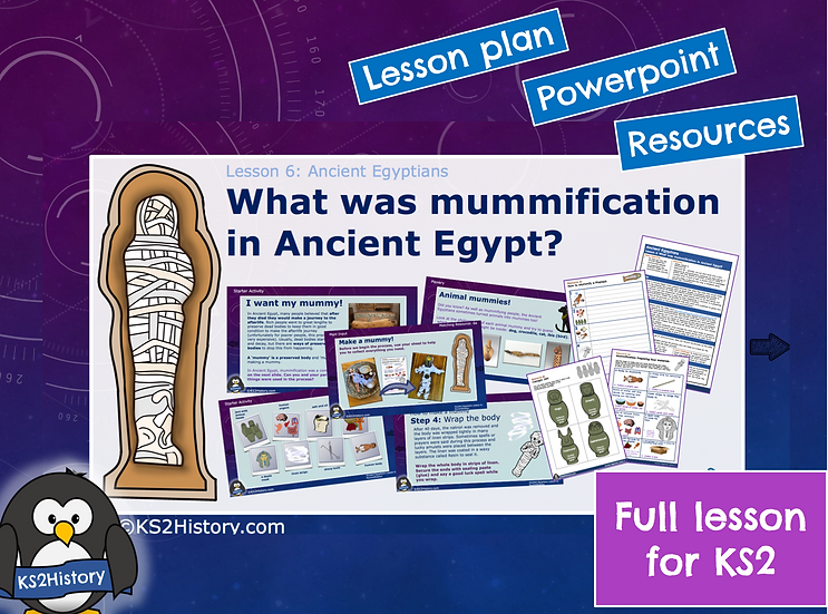 6. What was mummification in Ancient Egypt?