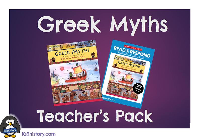 Greek Myths Teacher Pack
