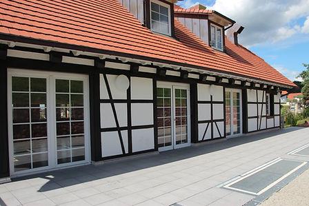 Restaurant Sonne Wildtal Gundelfingen bei Freiburg im Breisgau Terrasse Empfang Hochzeit Tagung Seminar