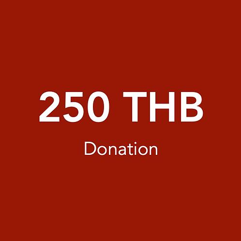 250 THB Donation