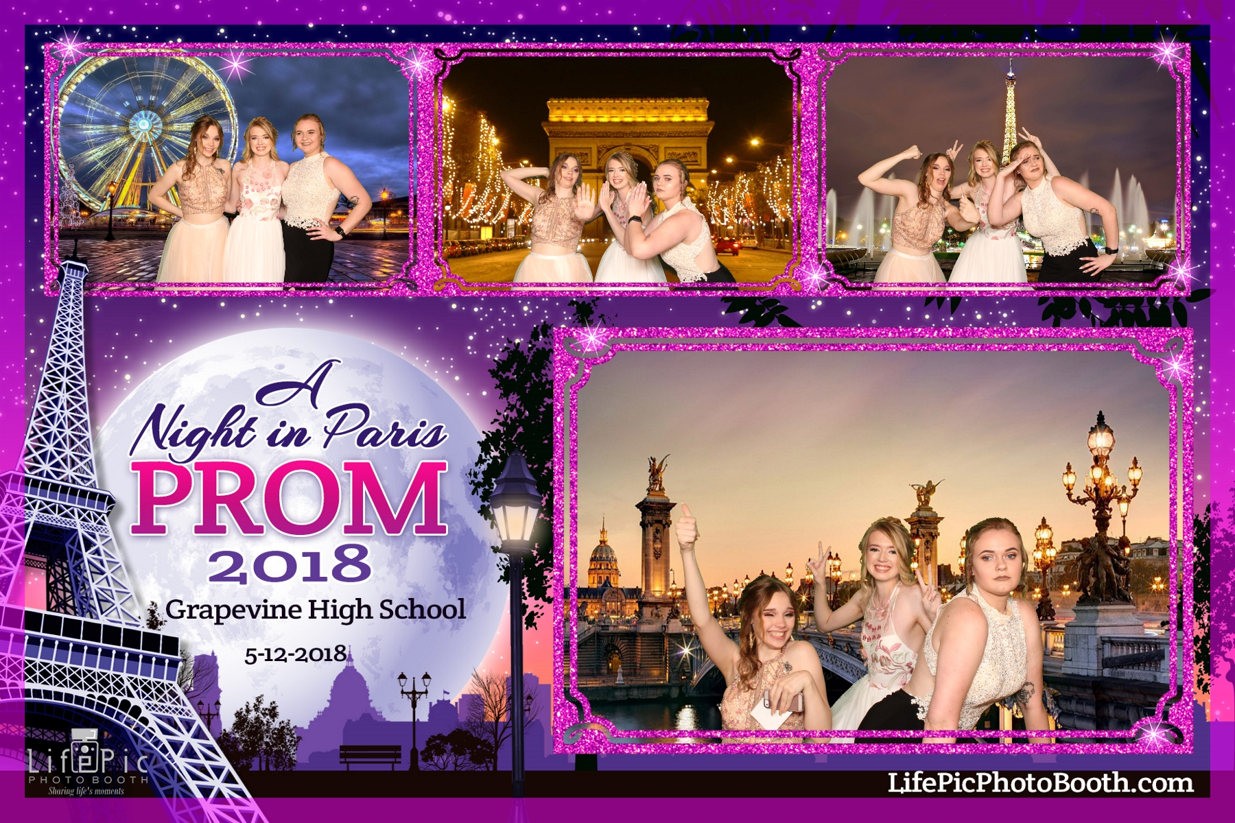 Grapevine High School Prom_2018-05-12_21