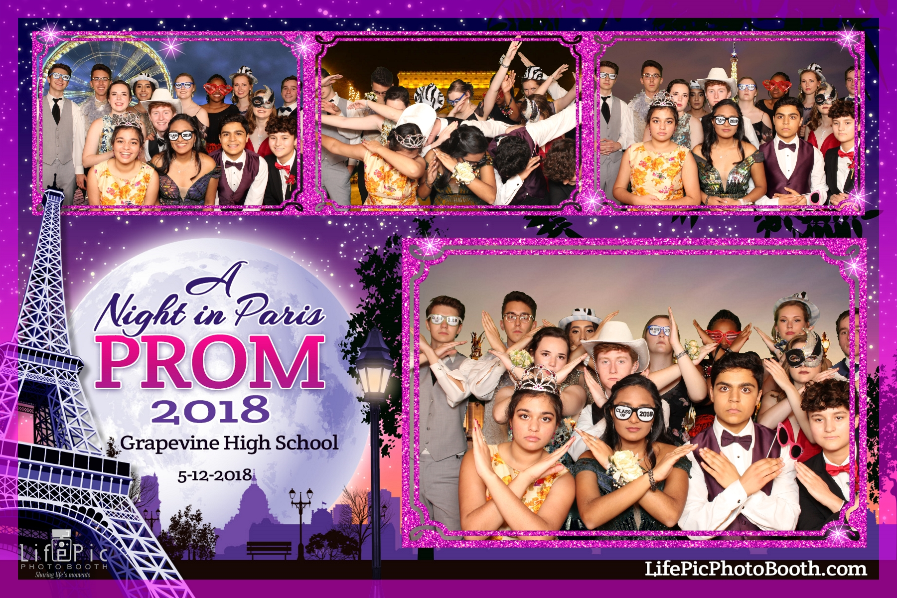 Grapevine High School Prom_2018-05-12_22