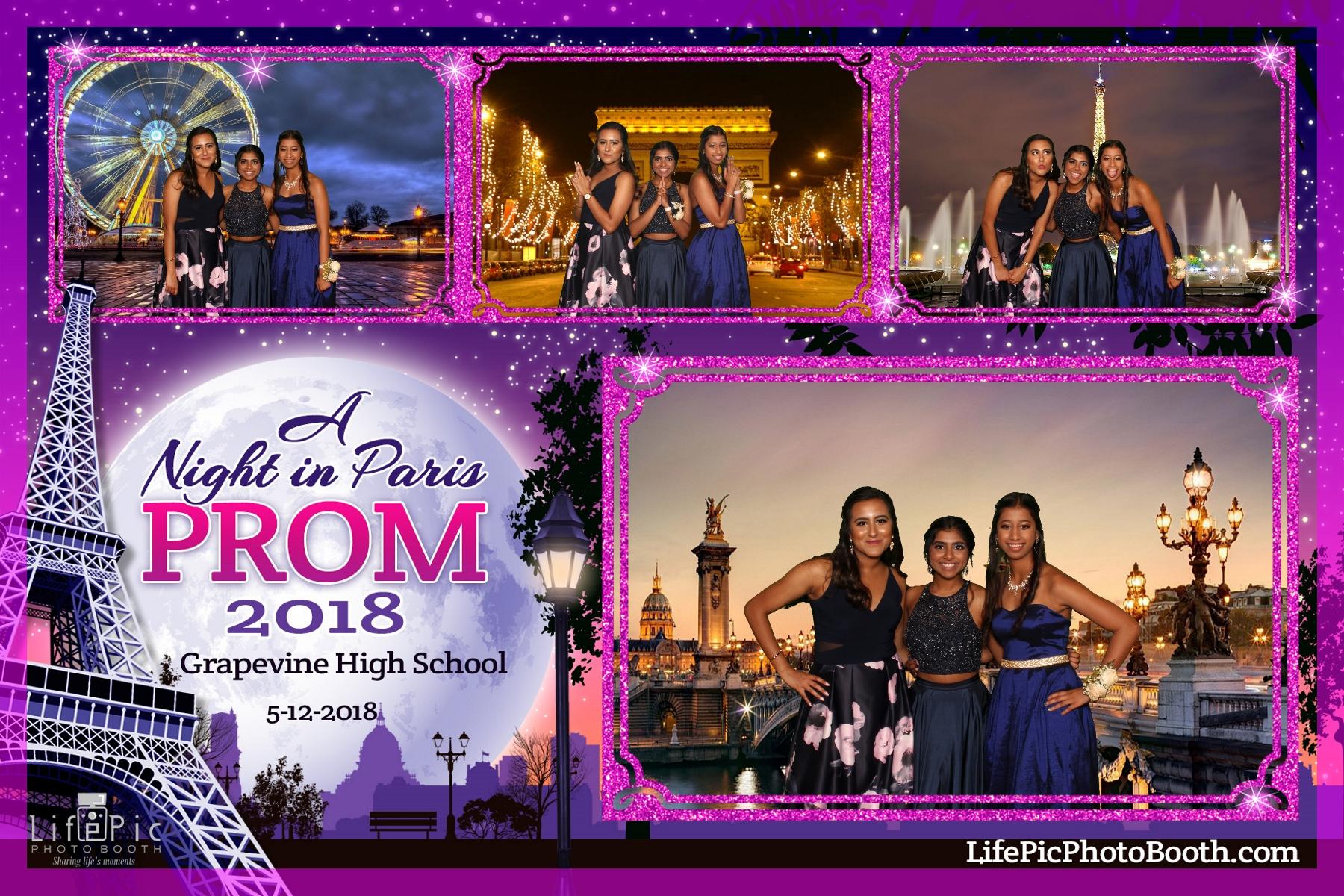 Grapevine High School Prom_2018-05-12_21