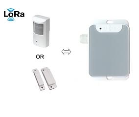 LoRa door sensor, LoRa occupancy sensor