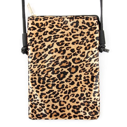 LEOPARD SMALL CROSSBODY BAG