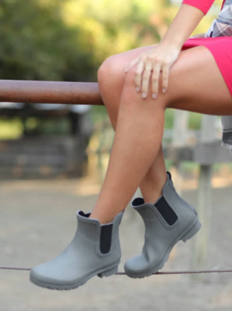 ROMA BOOT-LIGHT GREY