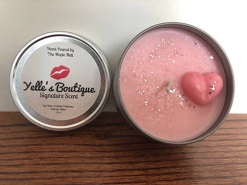 Yelle's Signature Scent Tin Candle