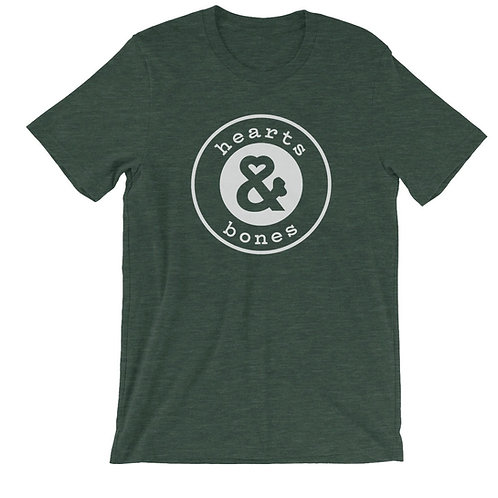 "Hearts & Bones ""Logo"" T-Shirt - Emerald"