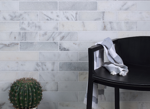 Long Island Marble Brick Tumbled Finish