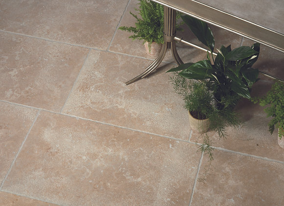 Bellemont Limestone Seasoned Finish