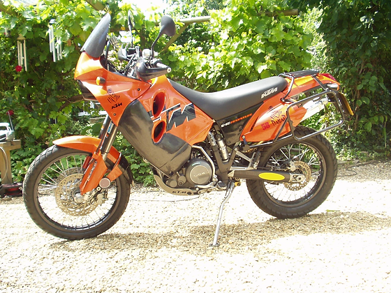 KTM 640 Adventure Tank Guards (1997 – 2007)