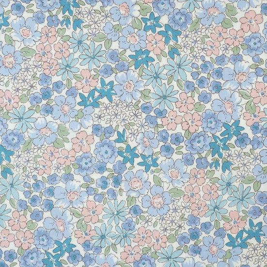 F92 Flowerbed in Powder Blue