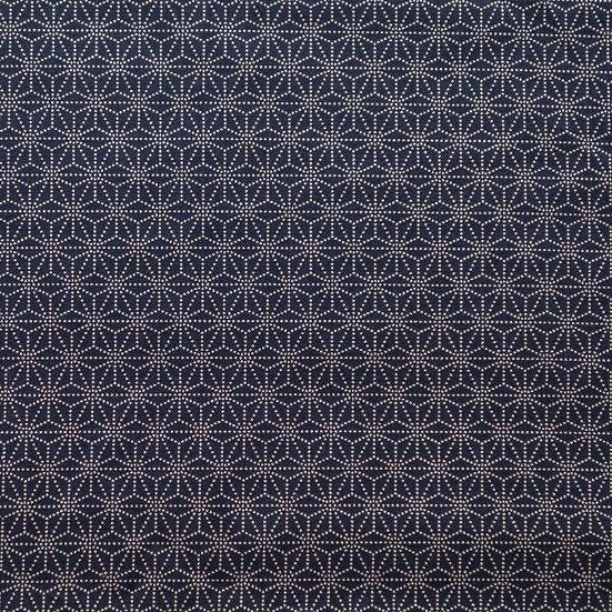 G53 Mini Tessellation Print in Dark Blue