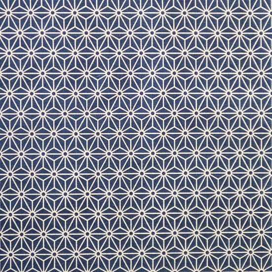 G62 Mini Tessellation Print in Dark Blue v2