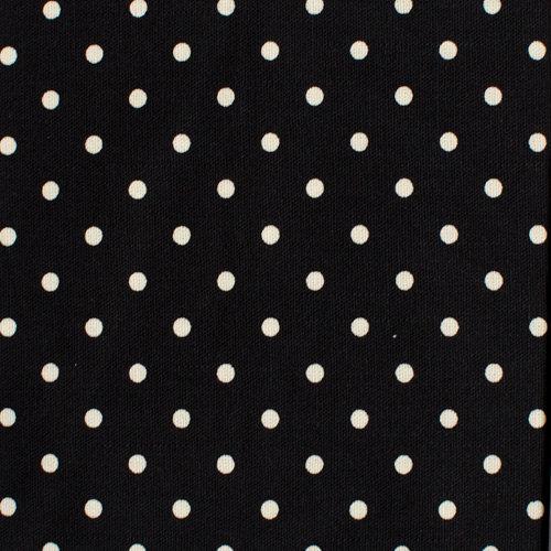 J04 Black Polka Dots