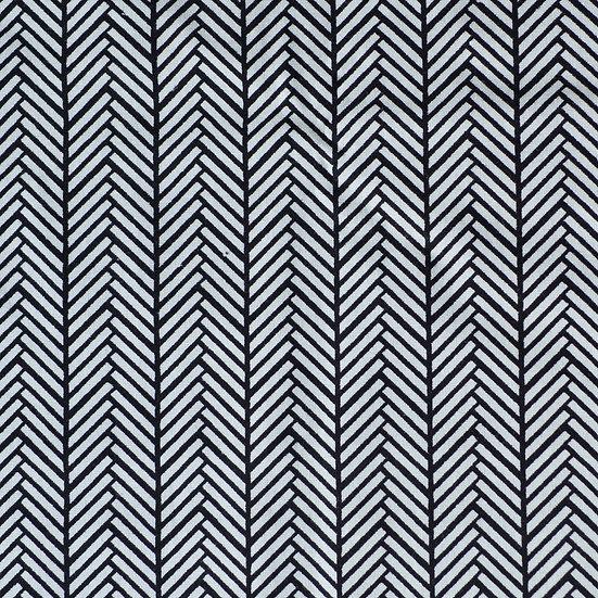 G55 Classic Herringbone in Monochrome