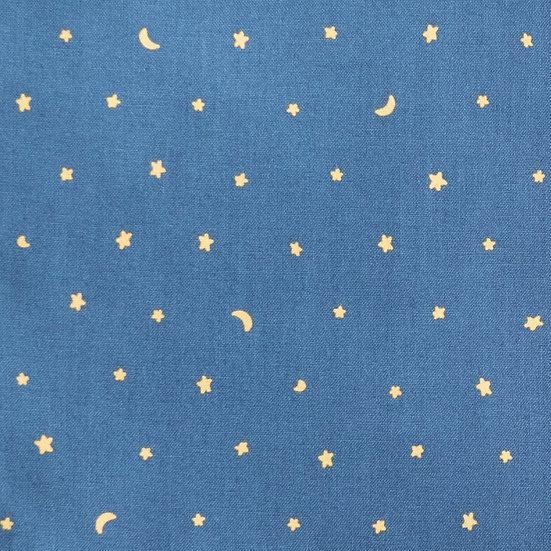 J59 Honey Stars on Blue