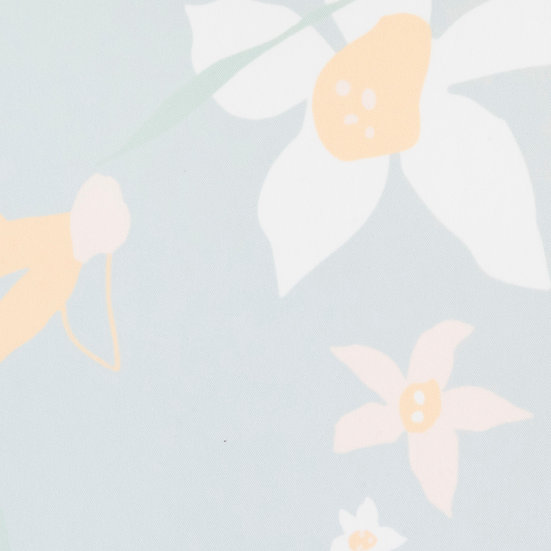 F81 Daffodils on Laurel by Afterjuly