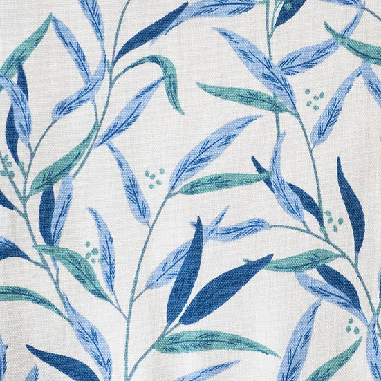 F91 Large Foliage in Blue Green