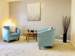 Beautiful airy room