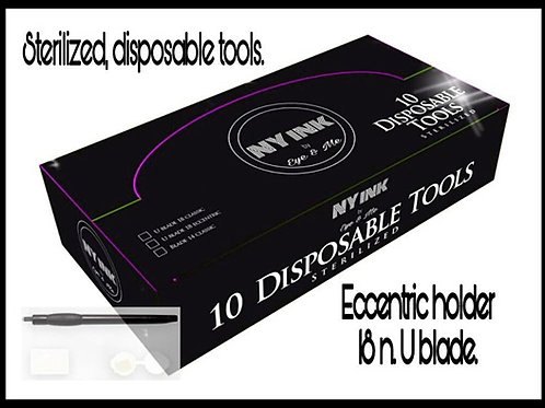 NY Ink Cosmetics Disposables